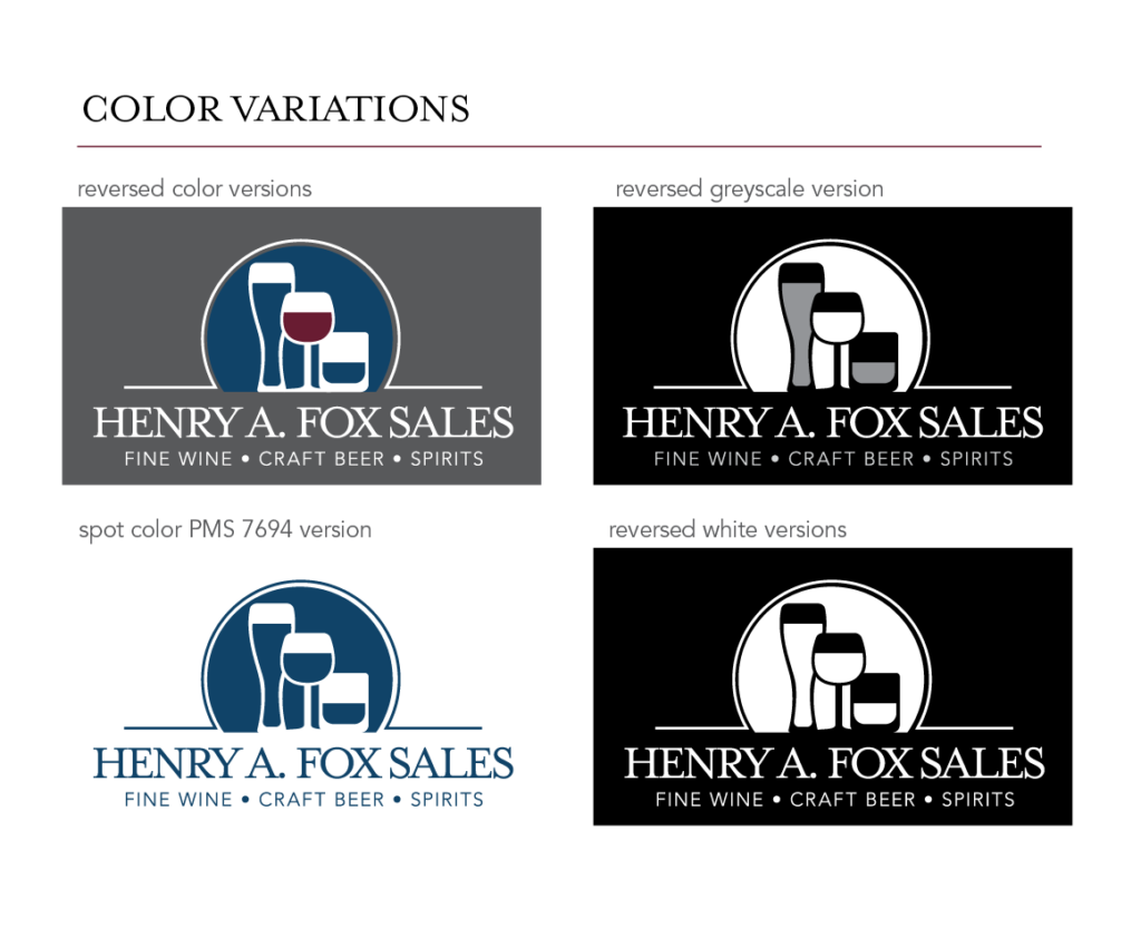 Brand Guide - Color Variations