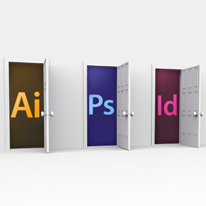 Photoshop vs. Illustrator vs. InDesign