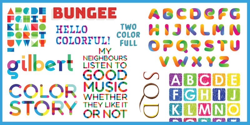 Colored Fonts Hit The Mainstream Font Repos (Like a Digital Virus)