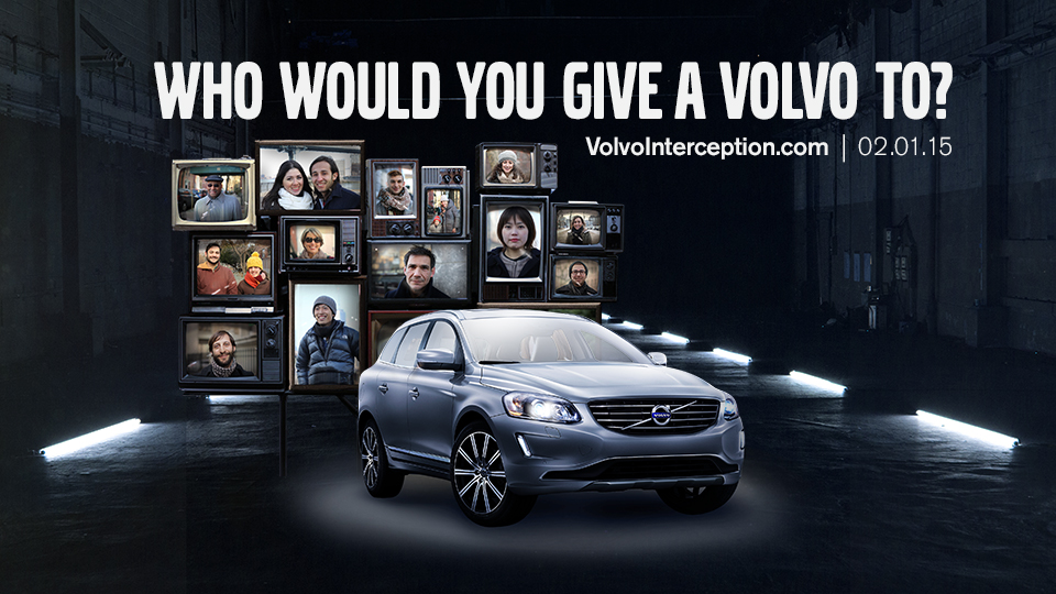 Volvo Super Bowl Interception Tweet